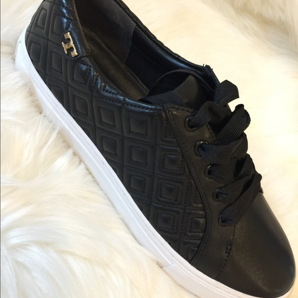 Tory Burch Shoes - Tory Burch - Marion Quilted Lace-up Sneaker